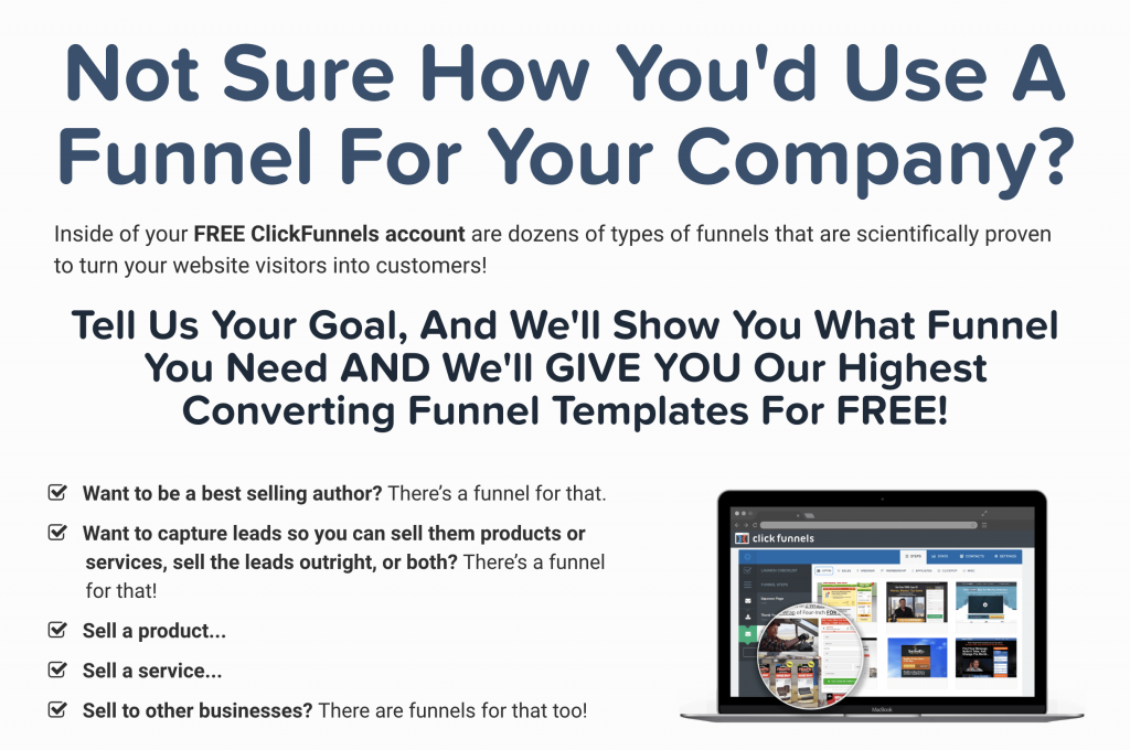 not sure how to use clickfunnels?